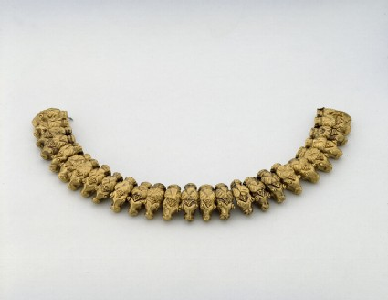 Necklace in the form of 26 rams' heads