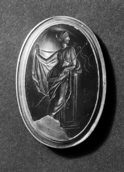 Intaglio gem depicting Maenad, Aphrodite or Hera