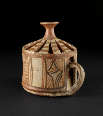 Incense cup and cover