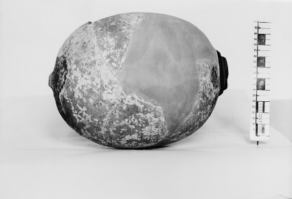 Rhyton in the form of an ostrich egg
