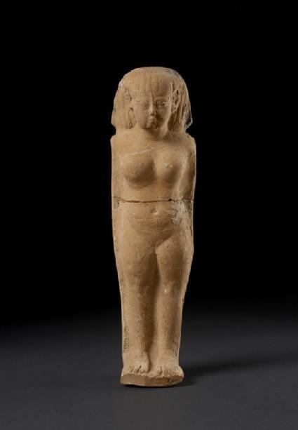 Naked female figurine (Astarte-figurine), Egyptianising style