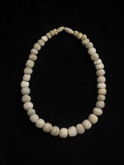 String of 43 paste beads