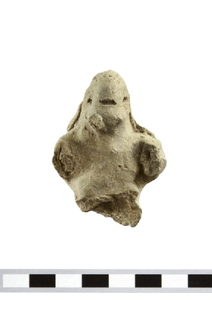Fragmentary terracotta figurine, possibly of a monkey