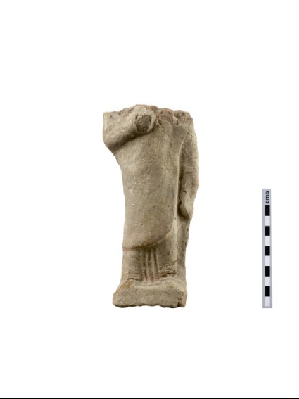 Terracotta figurine of female votary