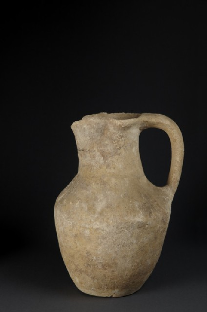 Plain White Jug (handmade, trefoil mouth)