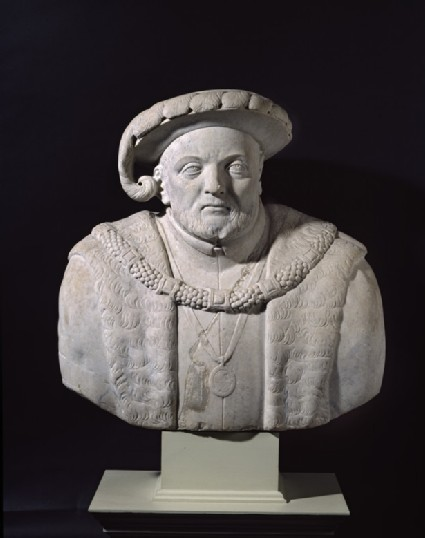 Bust of King Henry VIII