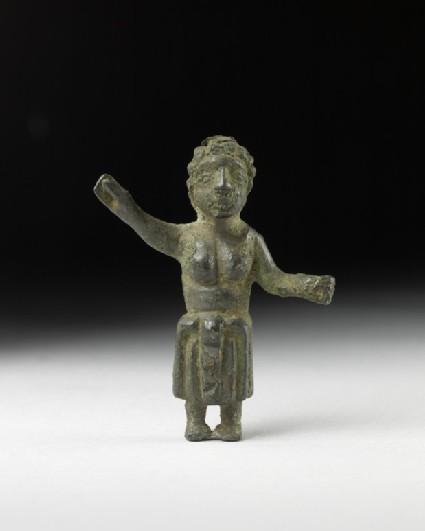 Bronze statuette of Venus in Anadyomene pose or a Celtic mother goddess