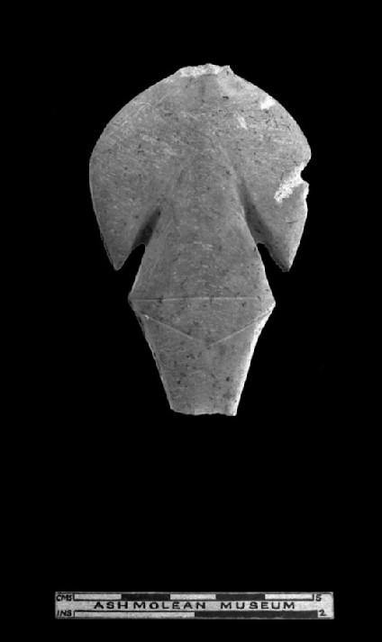 Stylised marble figurine