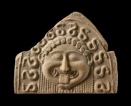 Terracotta Medusa antefix