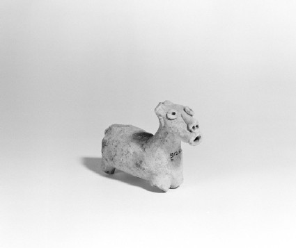 Animal figurine possibly of a bovine