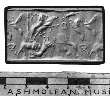 Cylinder seal and impression