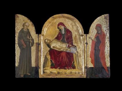 Icon triptych: Pieta