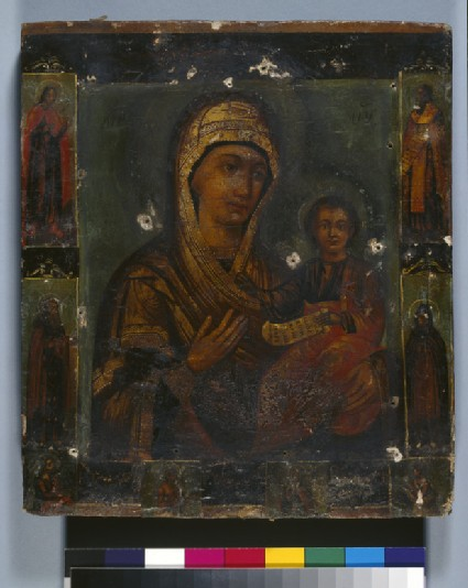 Icon of The Virgin Hodegetria and Child