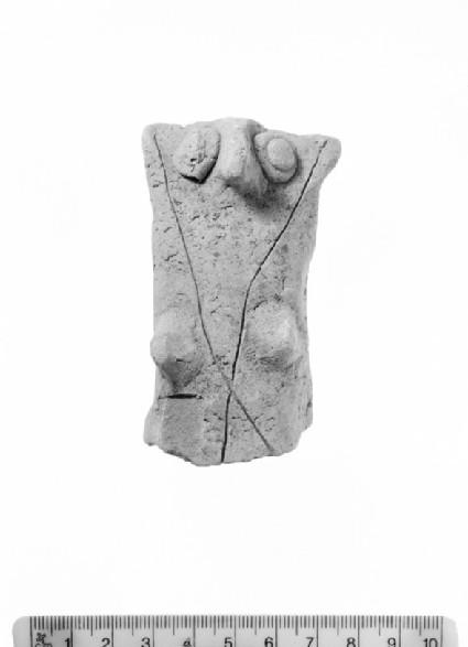Jar handle with mother goddess design