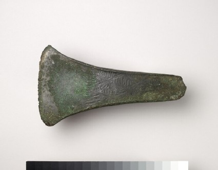 Decorated flat axe