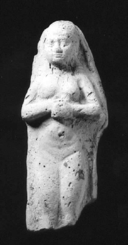 Figurine of a nude woman