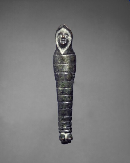 Full-length figure in shroud, perhaps mortuary figure