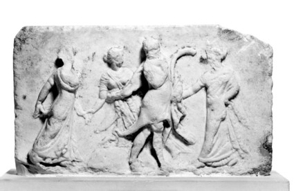 Relief of PAN and NYMPHS