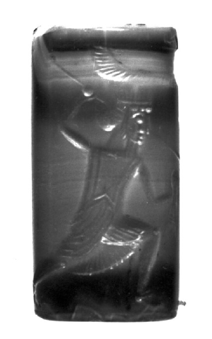 Cylinder seal with hunting scene, Greek style, Persian work