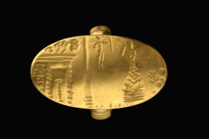 Signet ring with Scene of Worship