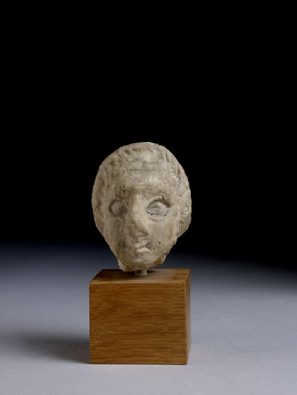 Figurine, fragment of female head