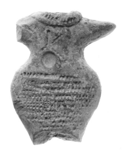 Body fragment of a female figurine