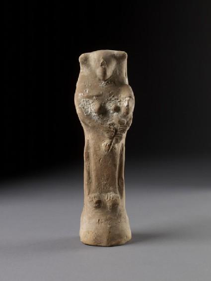 Dea Tyria gravida figurine with infant