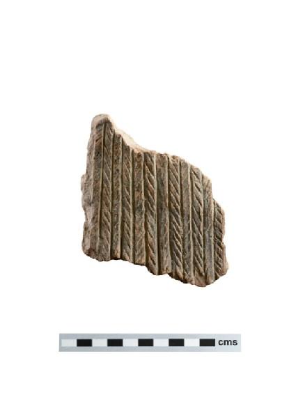 Fragment of large terracotta votive figure
