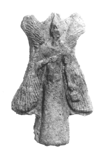 Figurine of a four-winged, bird-headed Apkalle