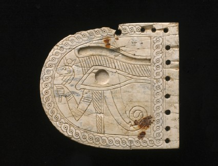 Ivory plaque