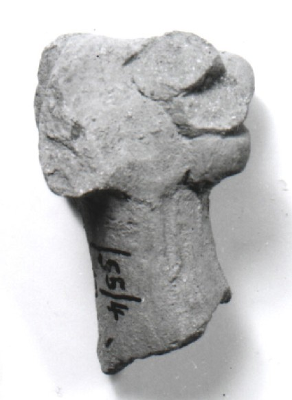 Head of a female figurine