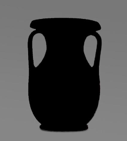 Attic red-figure Kerch style pottery pelike depicting a mythological scene