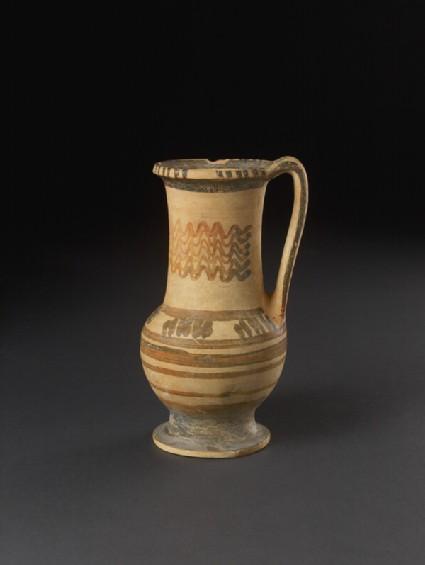Euboean or Boeotian Subgeometric pottery jug