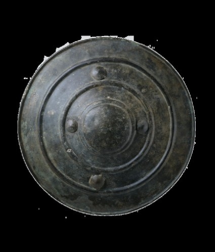 Bronze shield (Wittenham Shield)