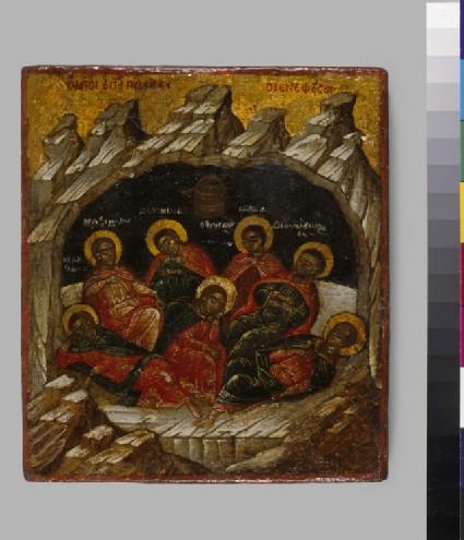 Icon of The Seven Sleepers of Ephesus