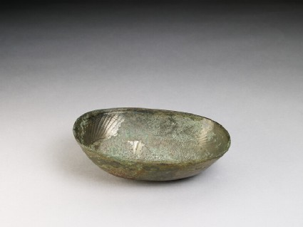 White bronze bowl
