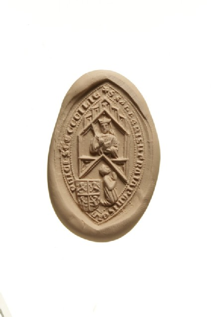 Seal of Sabas of the Frangipani, Canon of St Cecilia, Rome