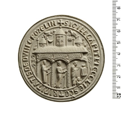 Seal of the Chapter of the Church of the Holy Trinity, Dunfermline, Scotland