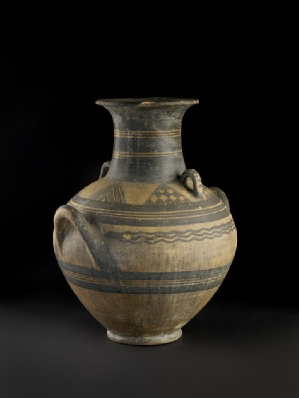 White-Painted I amphora