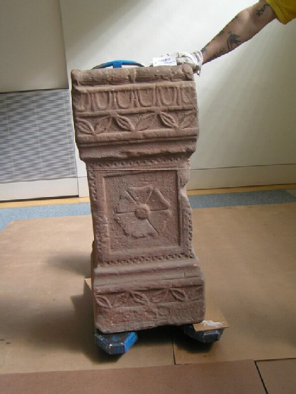 Funerary altar with Latin inscription to Jupiter Tanarus