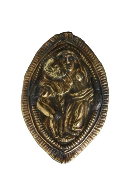 Finger ring, Man and woman embracing