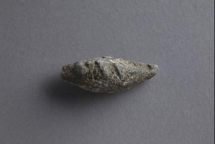 Sling bullet inscribed LXV
