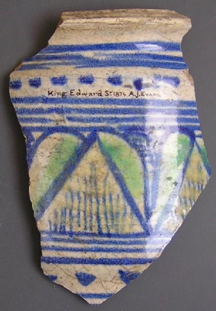 Ceramic fragment