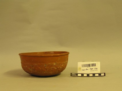 Bowl with winding scroll decoration