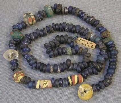 Strung beads