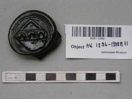 Bottle seal with shield and 3 dolphins
