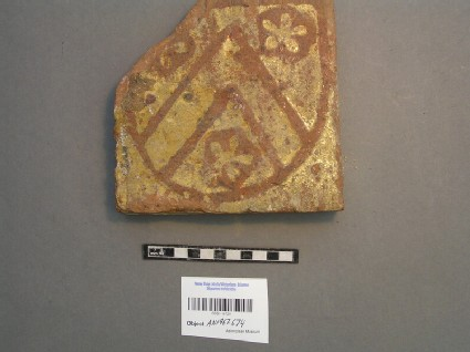 Floor tile with crest of All Souls College
