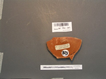 Samian ware sherd stamped AVENTINI M