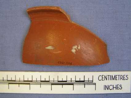 Sherd with barbotine decoration