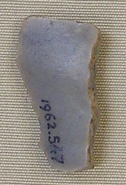 Backed bladelet fragment